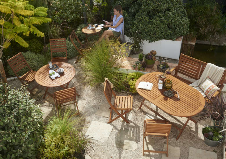 wooden garden furniture care guide - Garden Furniture Stain