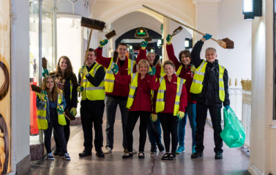 Chester BID spring clean up feature