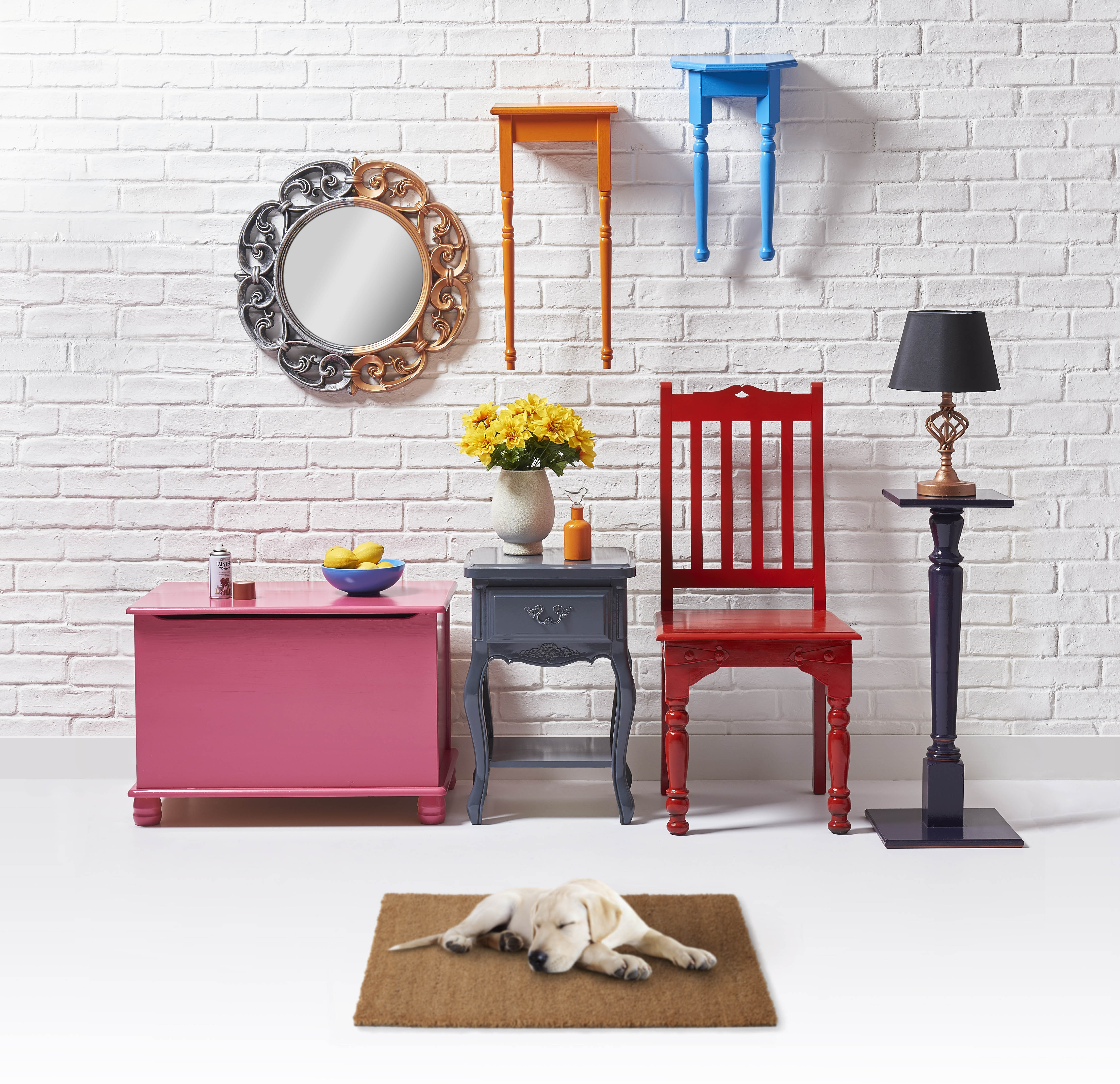 Upcycle Your Furniture With Wilko Paint