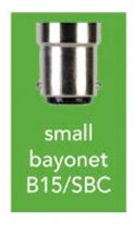 small bayonet screw fitting