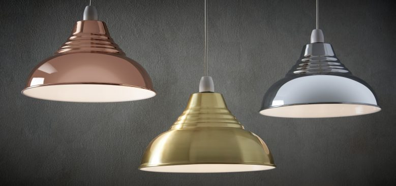 Lamp shades and pendants