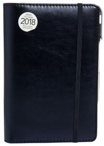 Ring-binder Diary black