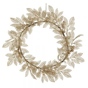 Christmas Midnight Magic Wreath Gold