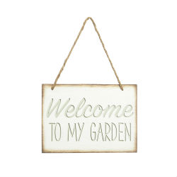 Garden sign amended