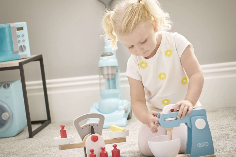 Wilko 2019 Lets Pretend Toy Range With Mixer, Scales, Hoover and Washer