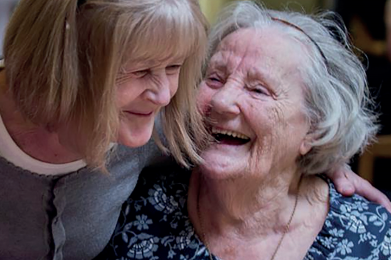 Alzheimers Society Imagery - caring for dementia